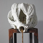 The Tie that Binds 2014 - Porcelain, Steel, Wood, Rope