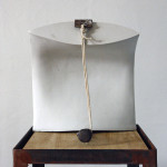 Bound by Circumstance 2014 - Porcelain, Steel, Found Objects, Wood, Rope